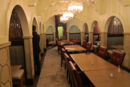 Anarkali restaurant dining area